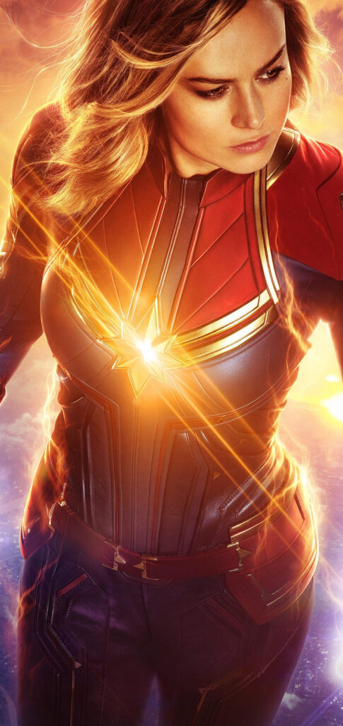 Captain Marvel Wallpaper For Iphone Xs