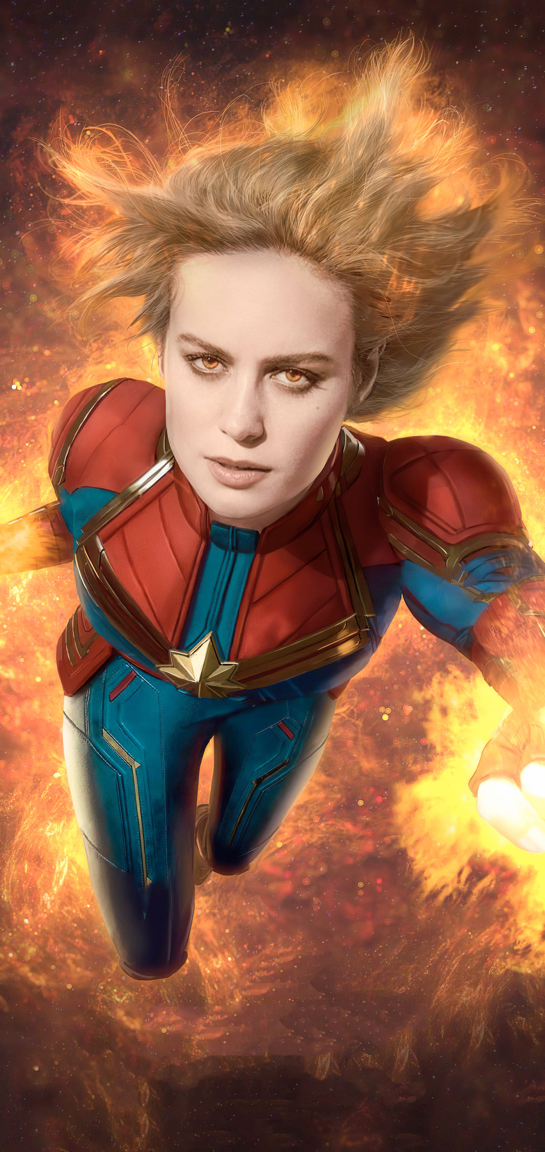 Captain Marvel Wallpapers Top 4k Background Download