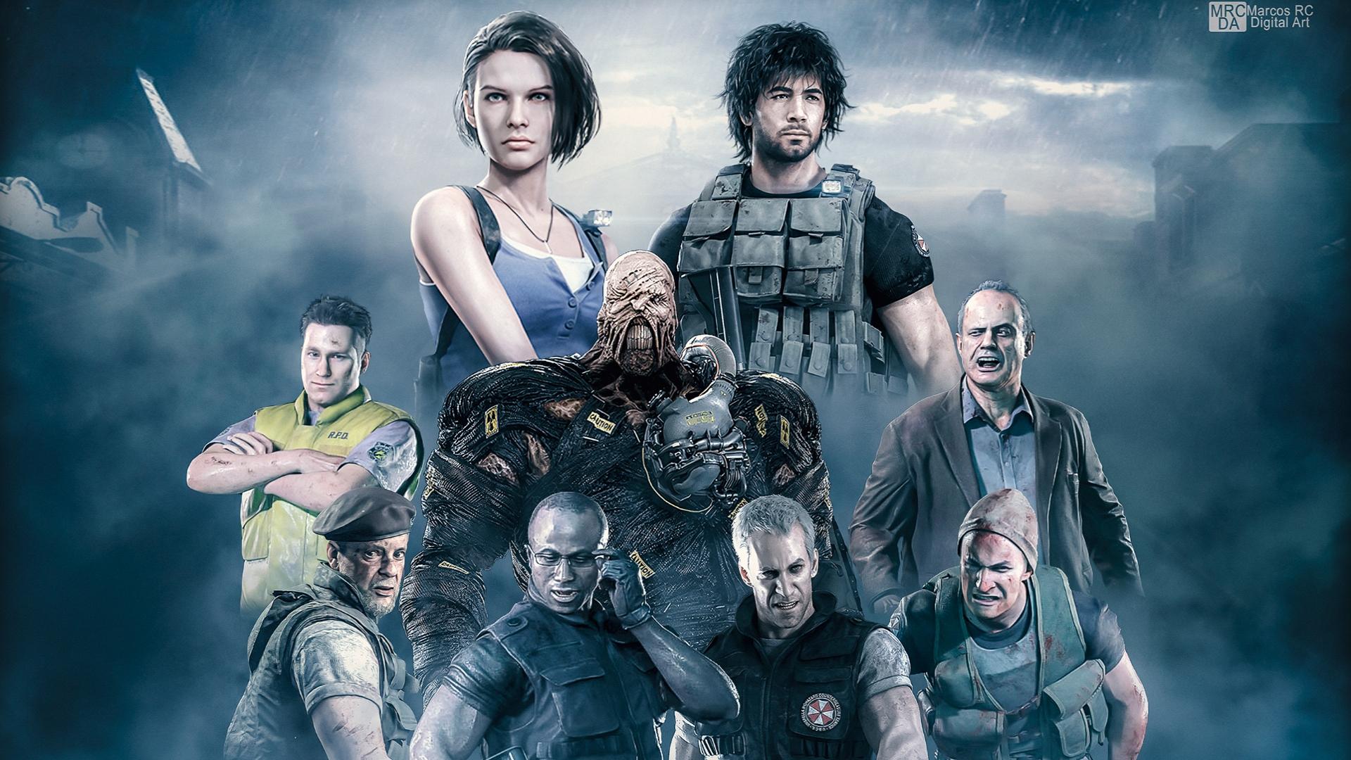 Resident Evil 3 Wallpapers Top 4k Background Dwonload