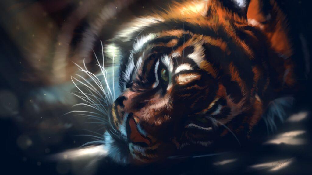 Tiger For Desktop Wallpaper