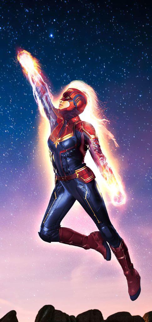 Wallpaper For Captain Marvel