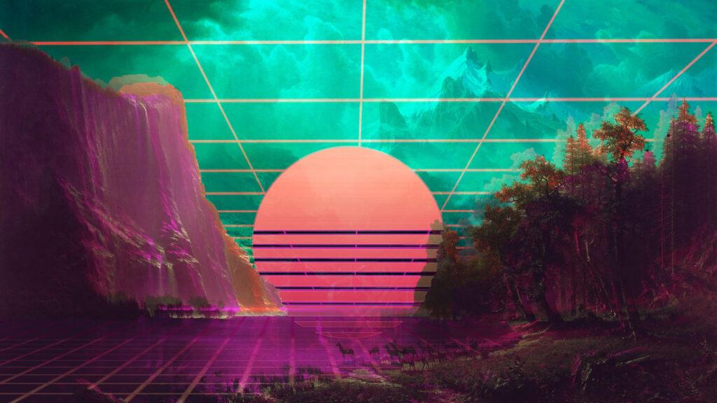 Best Vaporwave Desktop Wallpaper