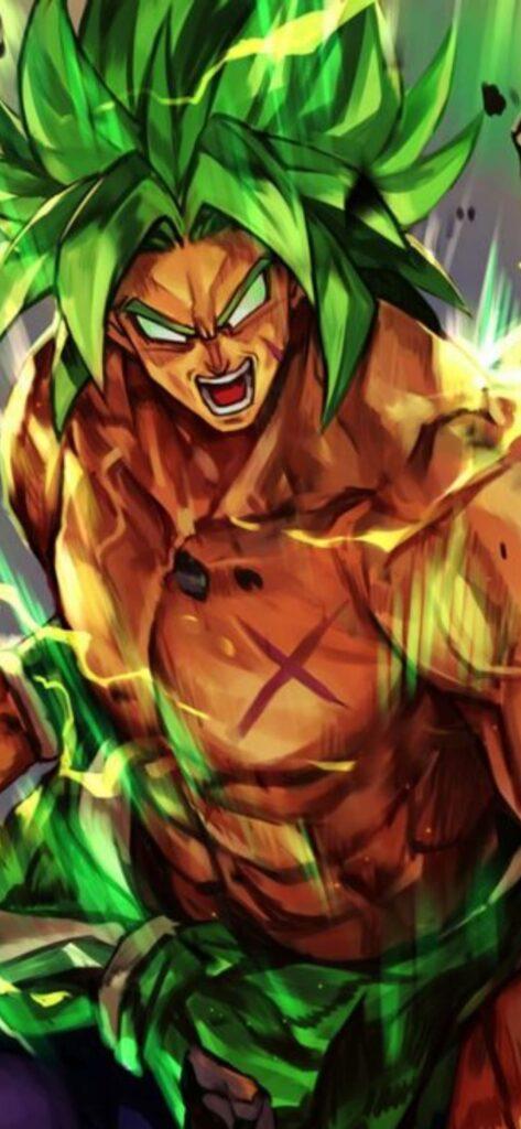 Broly Android Wallpaper