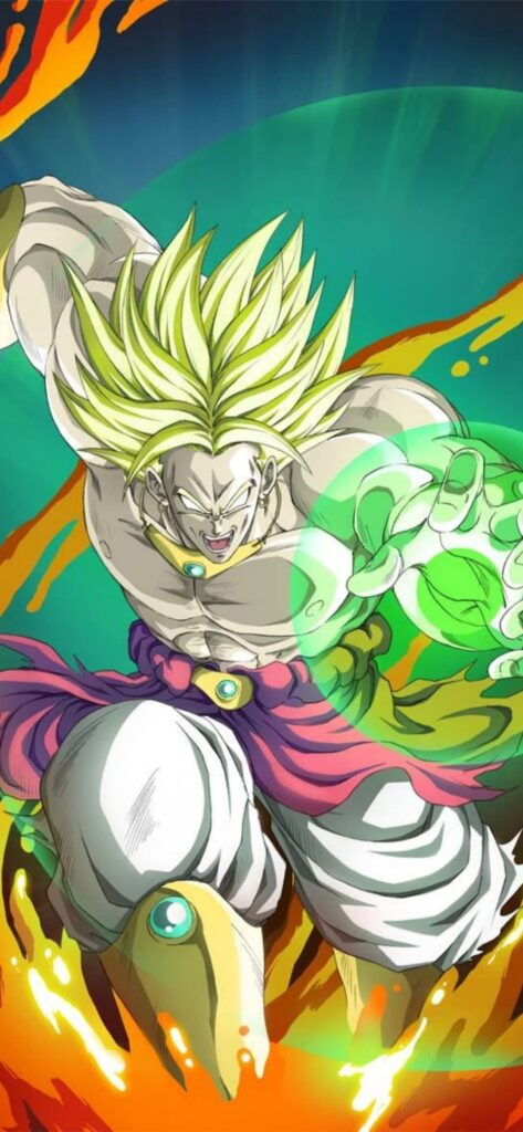 Broly Background
