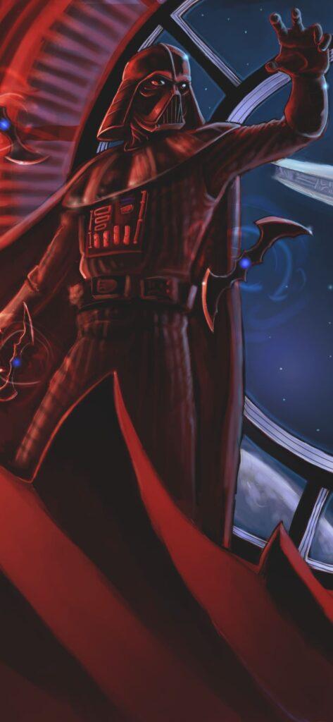 Darth Vader Homescreen Wallpaper