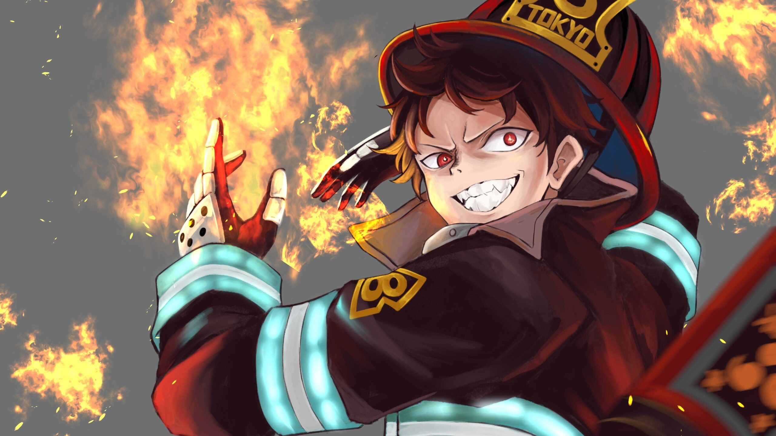 Fire Force Wallpapers Top 4k Background Download You can personalize your chromebook with a custom wallpaper for your desktop. fire force wallpapers top 4k