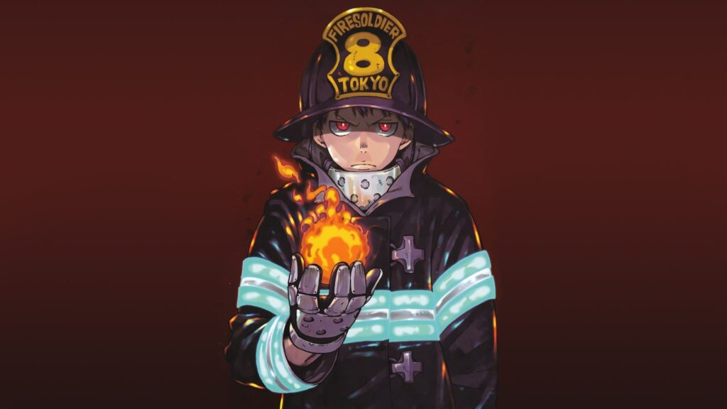Fire Force Laptop Wallpapers