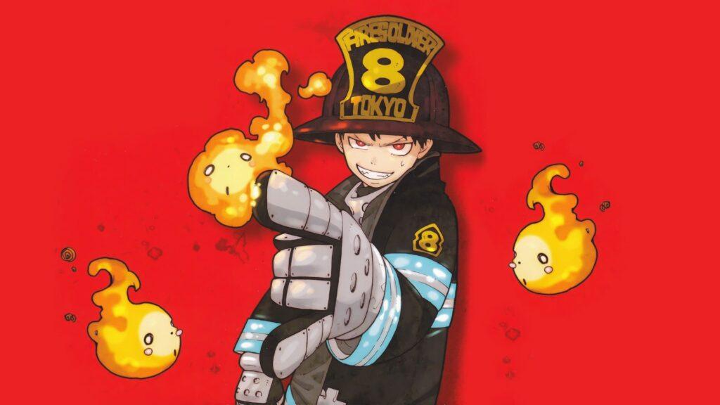 Fire Force Pc Wallpaper