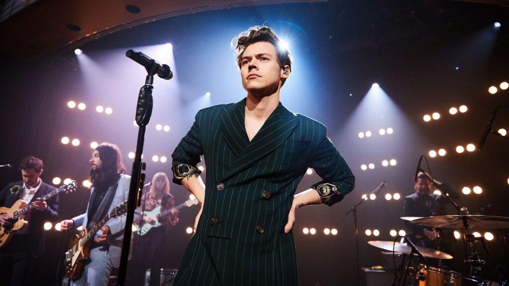 Harry Styles Desktop Background