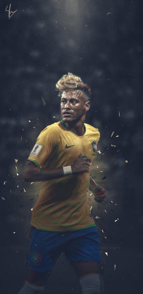 Neymar Wallpaper Mobile 4k