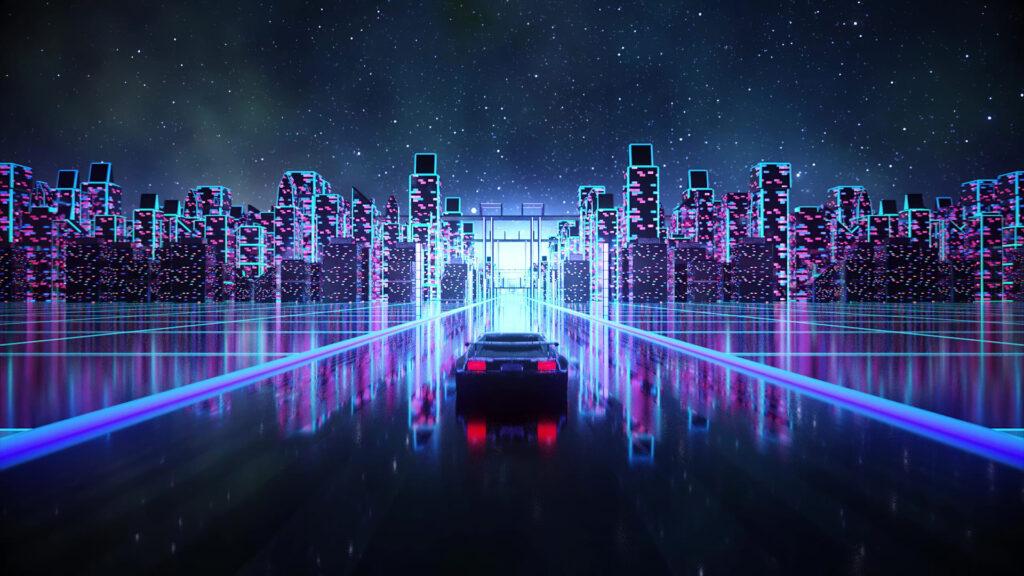 Vaporwave Computer Wallpaper