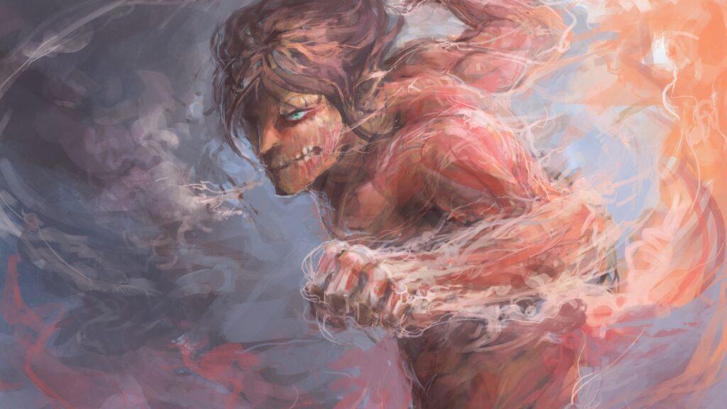 attack on titan background hd