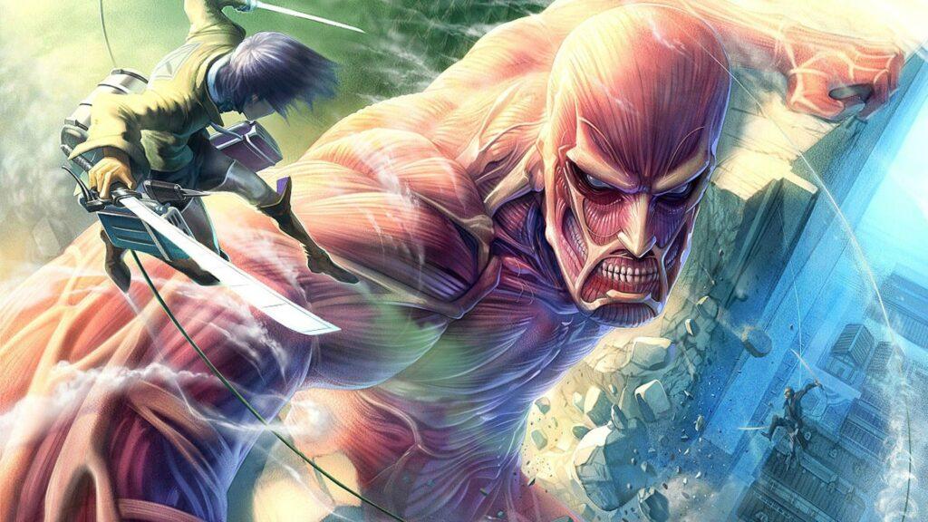 attack on titan laptop wallpaper