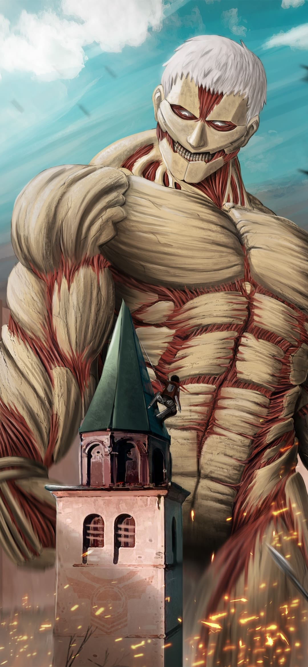 Attack on Titan Wallpapers: Top 4k Backgrounds  65+ HD