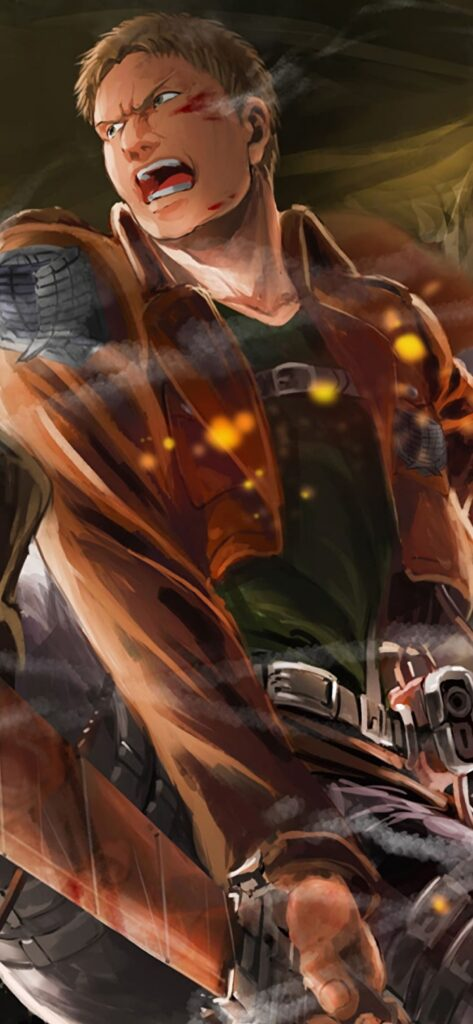 Attack On Titan Wallpaper For Iphone 11