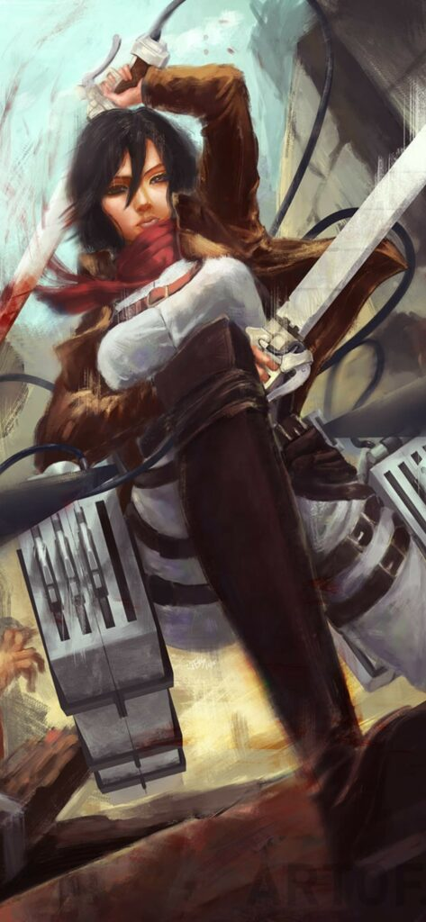 Attack On Titan Wallpaper For Iphone