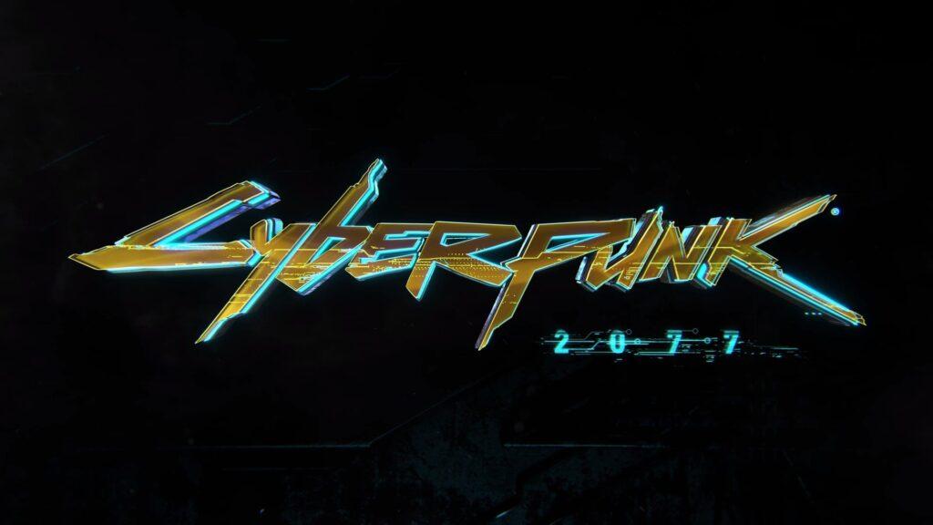 Cyberpunk 2077 Logo Wallpaper