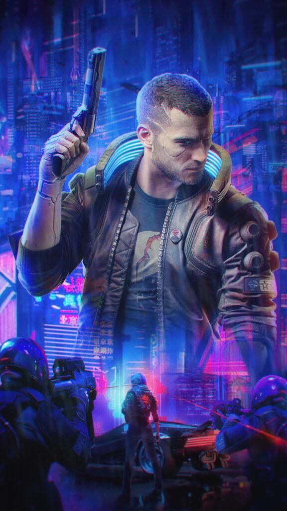 Cyberpunk 2077 Wallpaper Mobile
