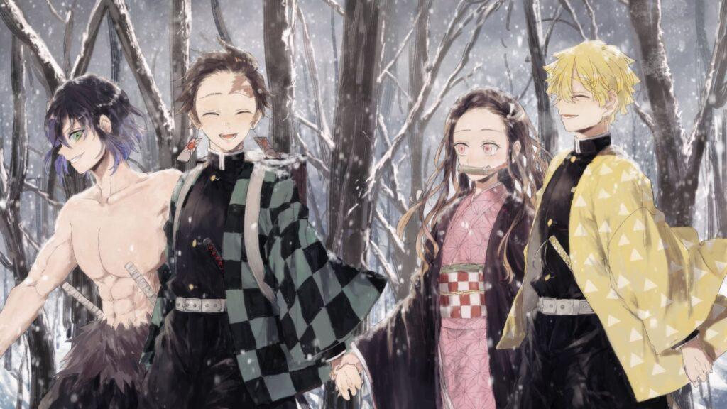 Kimetsu No Yaiba Computer Background