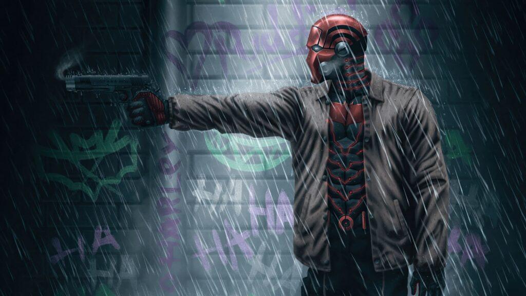 red hood desktop wallpaper