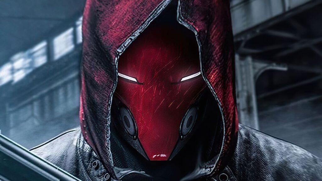 red hood laptop wallpaper