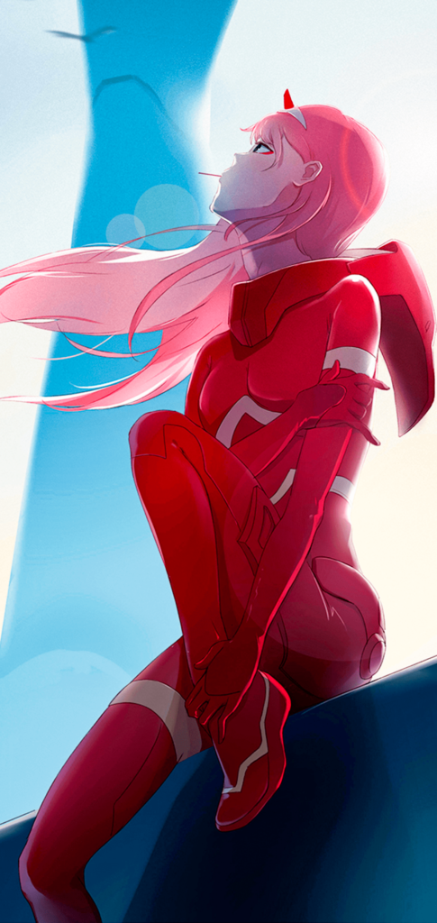 Zero Two Mobile Wallpaper