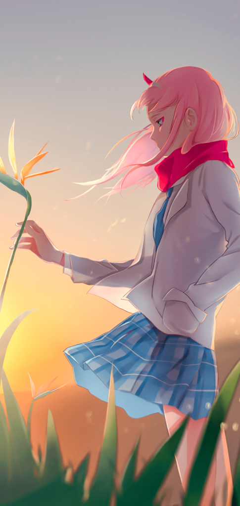 Zero Two Wallpaper