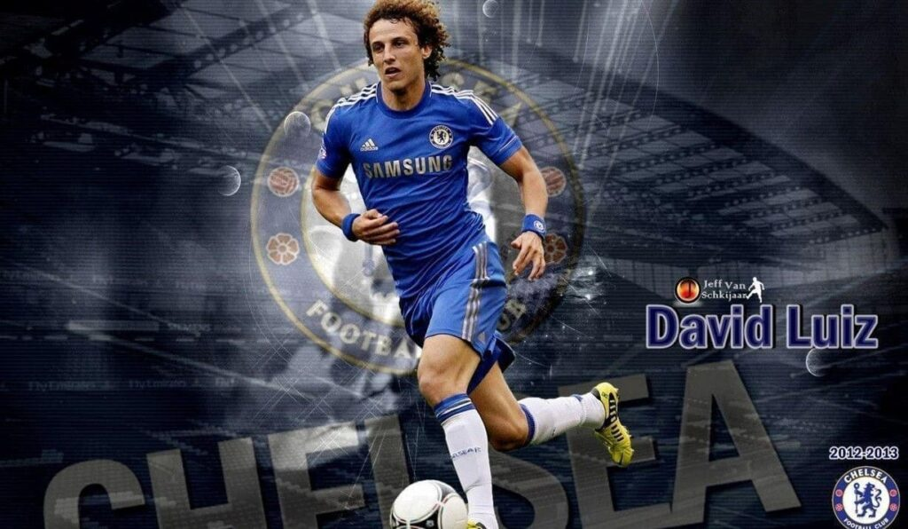 David Luiz Desktop Wallpaper 4k