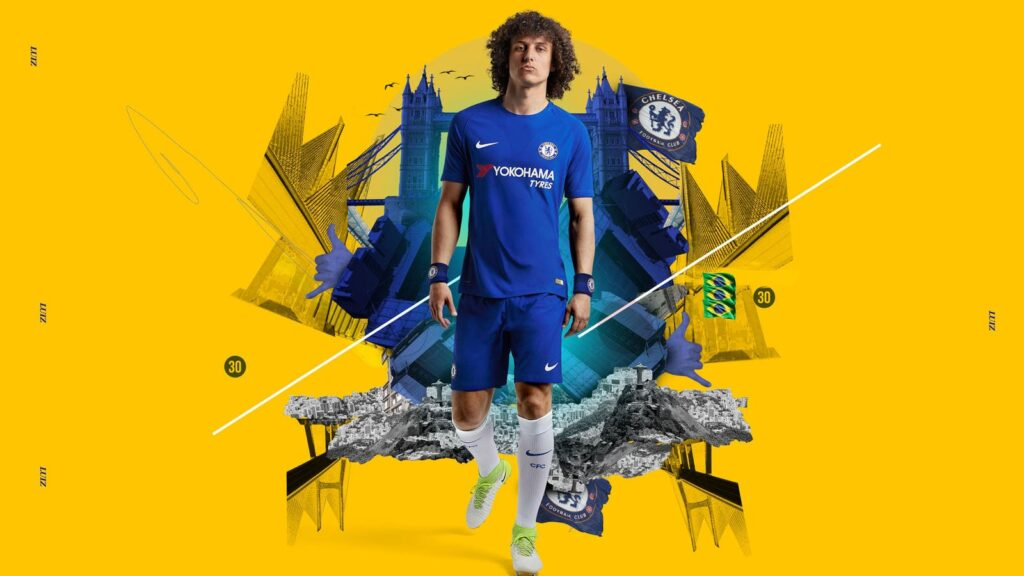 David Luiz Pc Wallpaper 4k
