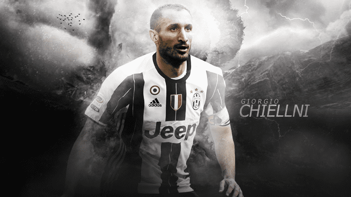 Giorgio Chiellini Laptop Wallpaper