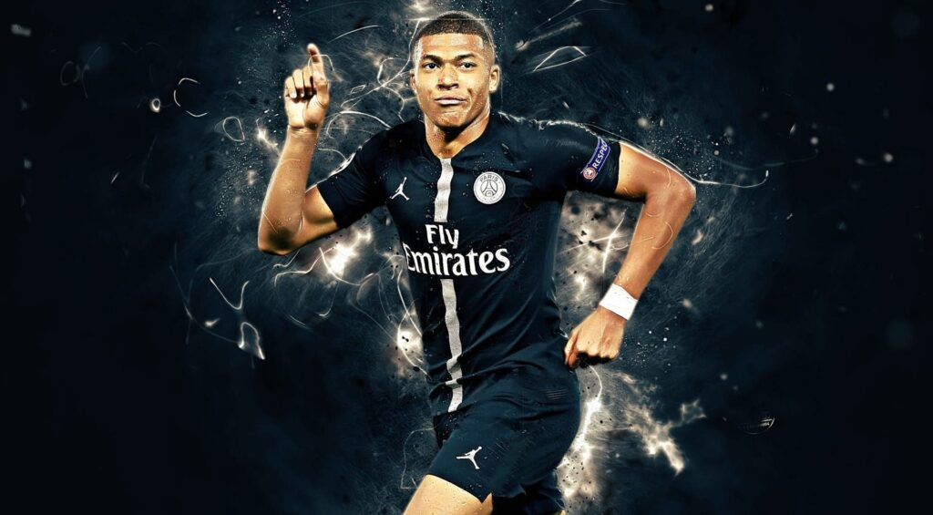 Kylian Mbappe Desktop Wallpaper