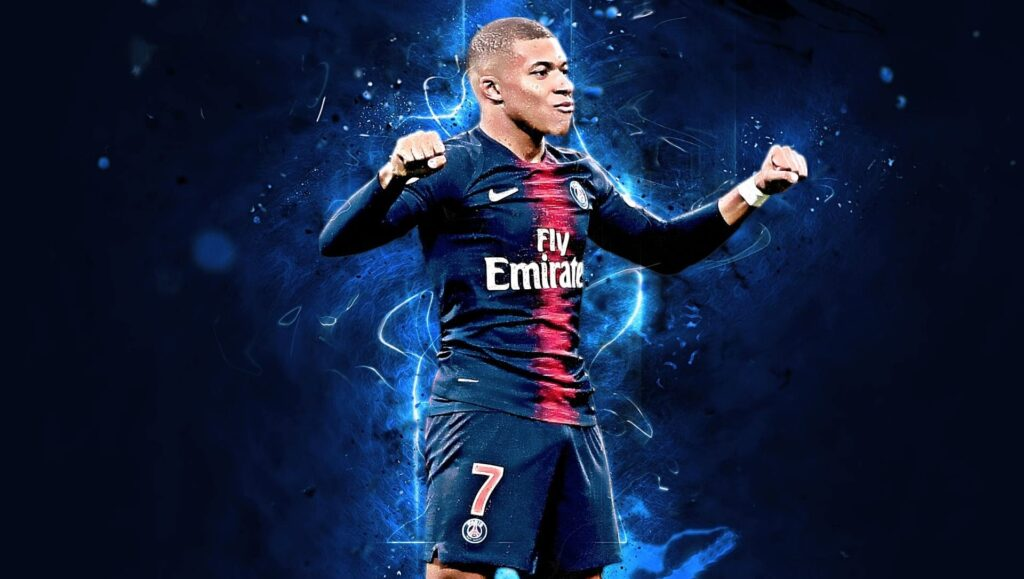 Kylian Mbappe Laptop Wallpaper