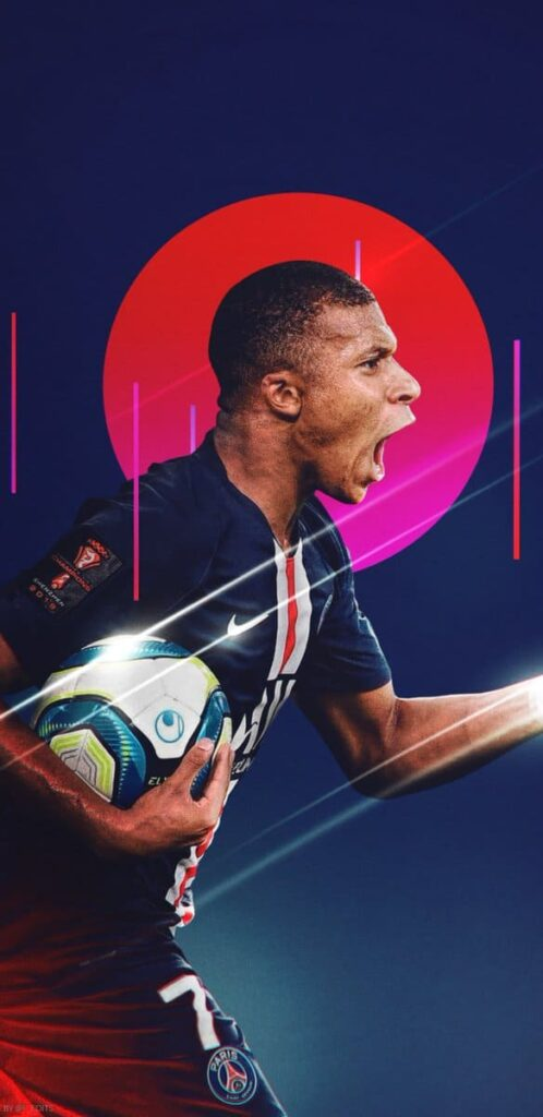 Kylian Mbappe Wallpaper 2021
