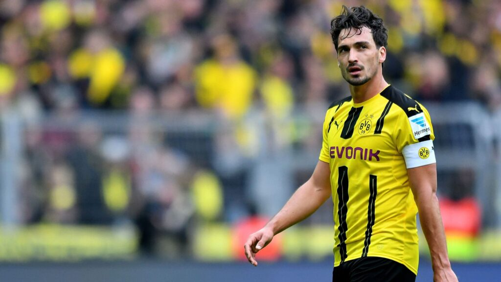 Mats Hummels Desktop Wallpaper