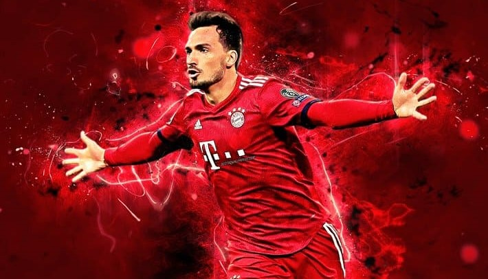 Mats Hummels Desktop Wallpaper 4k