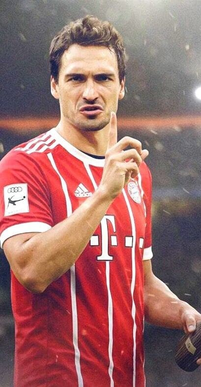 Mats Hummels Wallpaper 4k
