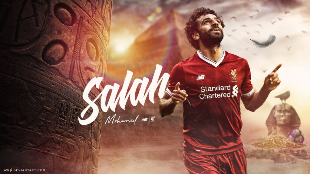 Mohamed Salah Desktop Wallpaper