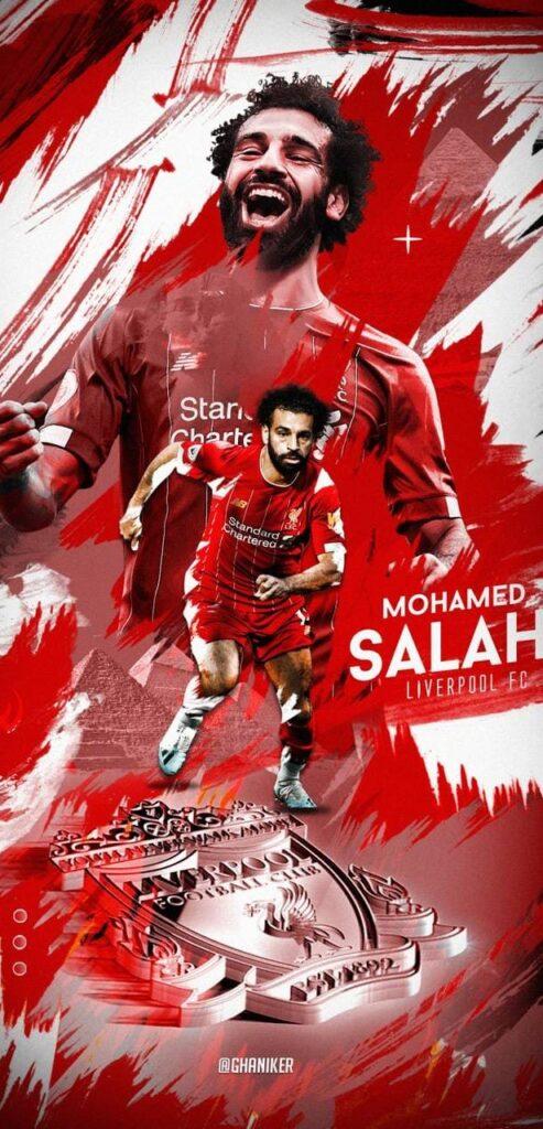 Mohamed Salah Wallpaper Iphone 4k