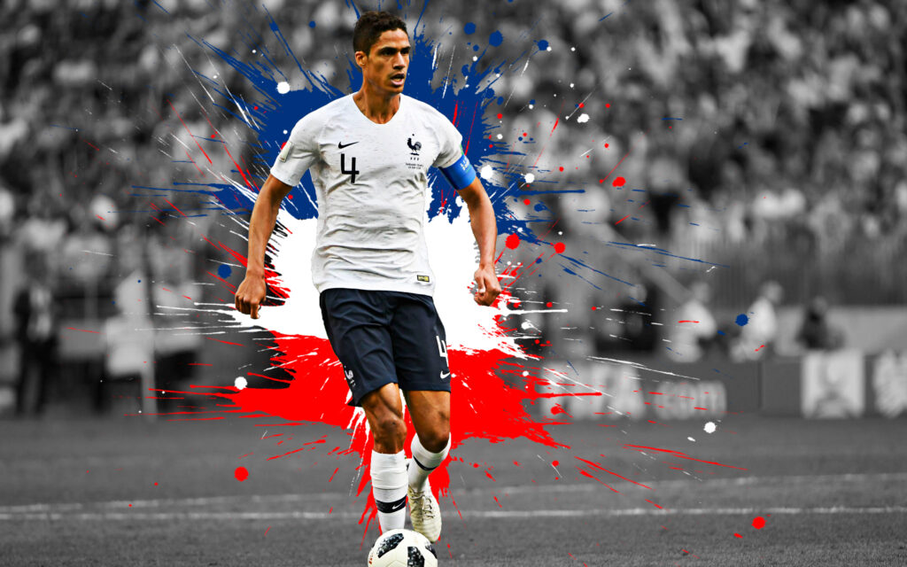 Raphaël Varane Desktop Wallpaper 4k