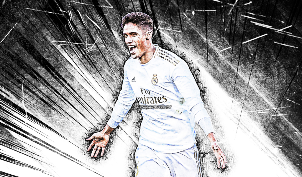 Raphaël Varane Laptop Wallpaper 4k