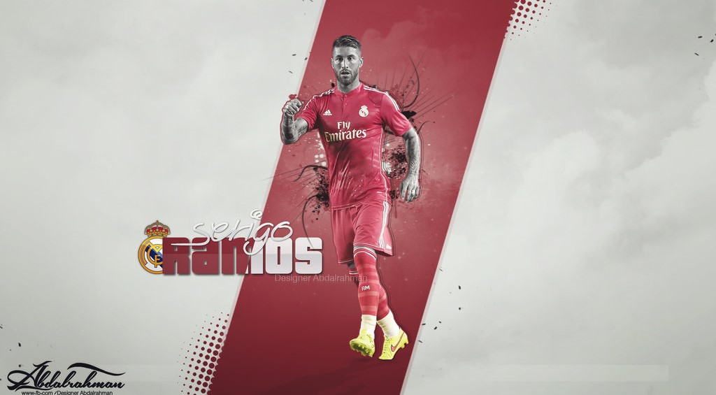 Sergio Ramos Desktop Wallpaper 4k