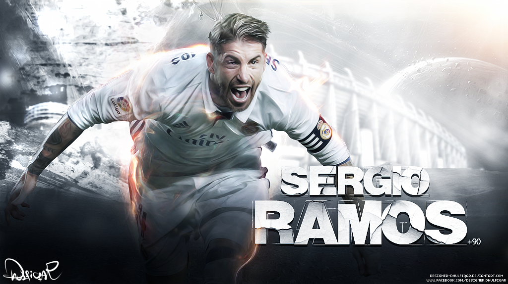 Sergio Ramos Laptop Wallpaper