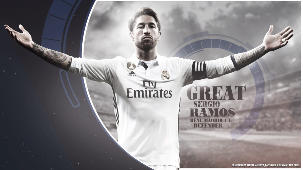 Sergio Ramos Pc Wallpaper 4k