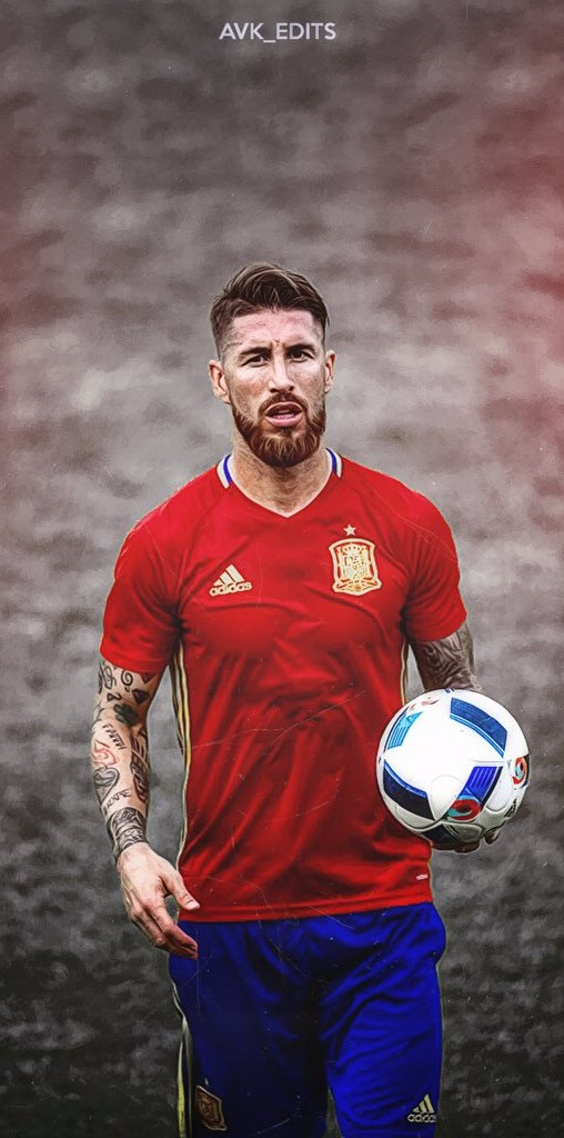Sergio Ramos Wallpaper 4k
