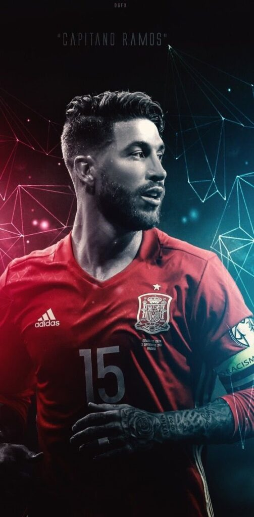 Sergio Ramos Wallpaper Android 4k