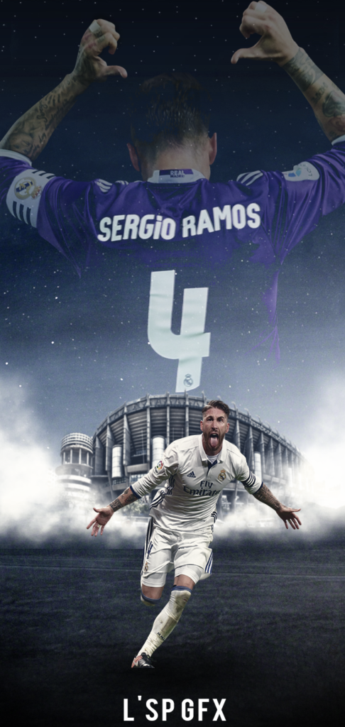 Sergio Ramos Wallpaper Mobile 4k