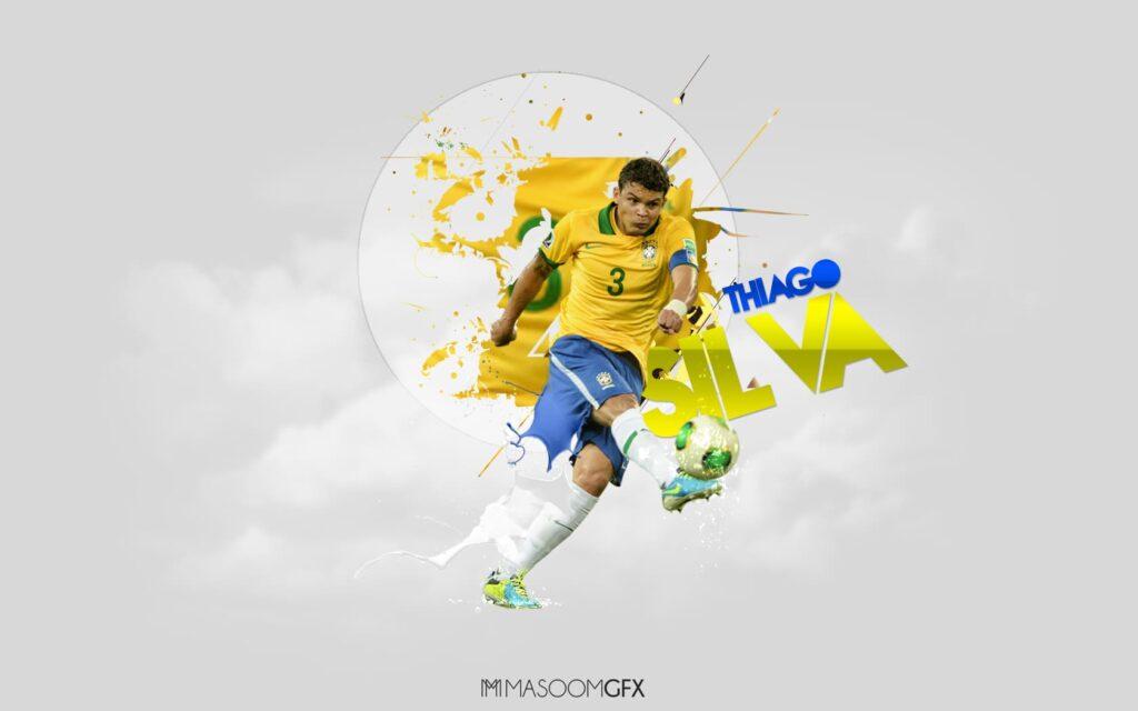 Thiago Silva Laptop Wallpaper 4k
