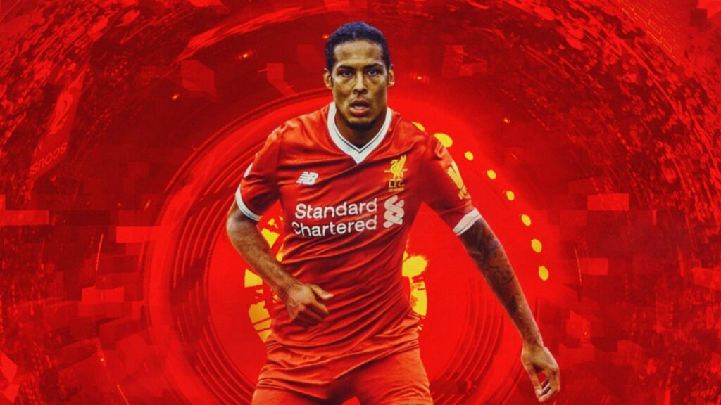Virgil Van Dijk Desktop Wallpaper