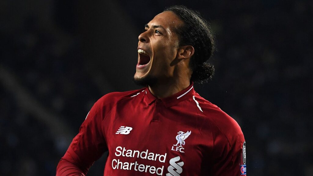 Virgil Van Dijk Desktop Wallpaper 4k