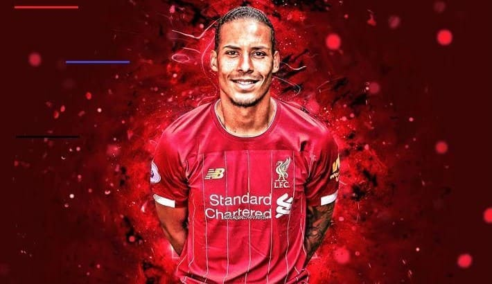 Virgil Van Dijk Laptop Wallpaper